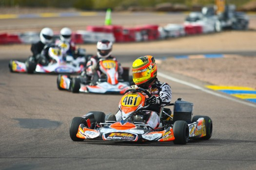 Fritz Leesmann added the Sunday victory in Phoenix to his two from Tucson  (Photo by: Sean Buur - Go Racing Magazine)