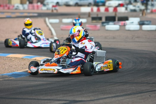 Alan Rudolph completed the weekend sweep of the DD2 Masters class in Phoenix   (Photo by: Sean Buur - Go Racing Magazine)