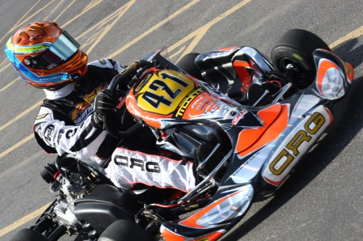 Jesse Lazare recently earned a podium finish in the formula car ranks and will now turn his attention to the Rotax DD2 category in Homestead (Photo credit: Cody Schindel / INTL-KartingMedia.com)
