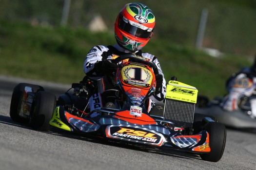 Reigning Rotax DD2 Masters World Champion will be looking to go four-for-four in feature race wins during 2013 FWT action (Photo credit: Cody Schindel / INTL-KartingMedia.com)
