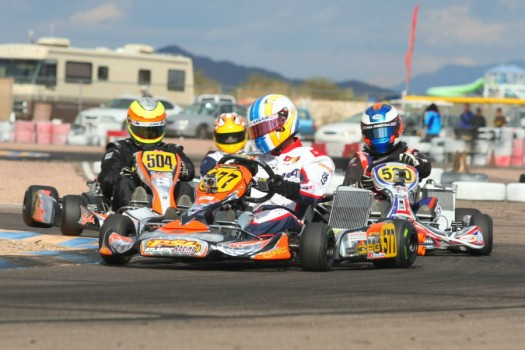Alan Rudolph extended his DD2 Masters championship lead with a sweep in Phoenix (Photo: Sean Buur - Go Racing Magazine)