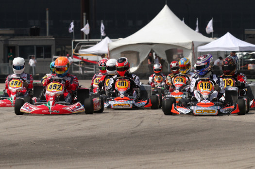 Traditionally fierce at the front, Rotax DD2 may be wide 'Open' in 2013. (Photo by: Cody Schindel, INTL-KartingMedia.com)