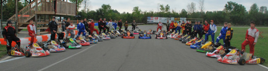 2012 was a successful season for the Lombardy Karting Association