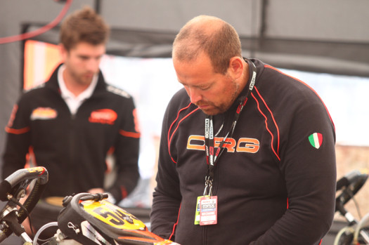 Bettencourt is jack of all trades at Mosport, and a great resource for karters and tuners. (Photo by: Cody Schindel/CKN)