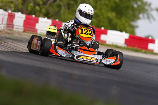 Thierry Cote will be a driver to watch in the Rotax Mini Max ranks during 2013 ECKC competition (Photo by: Cody Schindel/CKN)