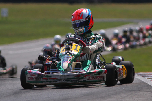 Briggs & Stratton drivers can now race ECKC events at club racing rates. (Cody Schindel, CanadianKartingNews.com)