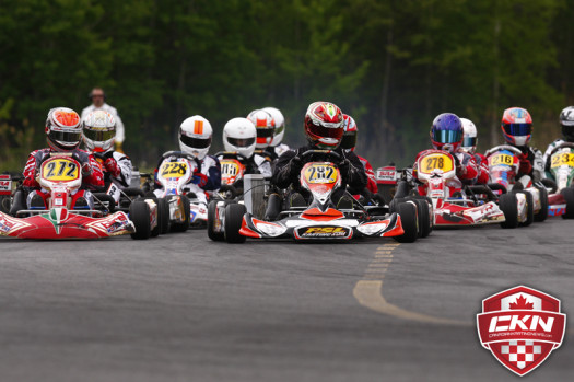 The Coupe du Quebec put on a great show in its opening round and many will travel to Mosport for the opening ECKC races.  (Photo by: Cody Schindel/CKN)