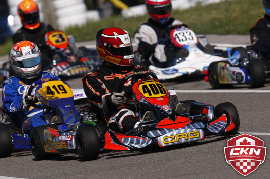 Enrico Menotti is looking to return to top of the ECKC podium at Mosport (Photo by: Cody Schindel/CKN)