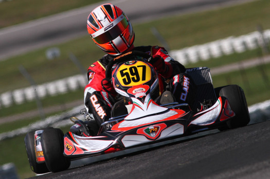 Prime Powersports' Master Stuart Clark leads all ECKC drivers with 10 wins. (Photo by: Cody Schindel/CKN)