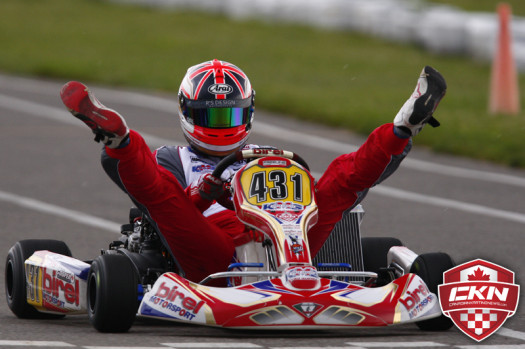 Double Victory for Cooper this weekend is a great start to defend his ECKC DD2 Championship (Photo by: Cody Schindel/CKN)