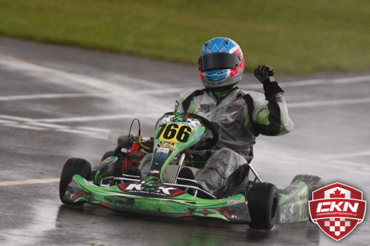 A victory on Saturday has Treadwell topping the CKN ECKC Driver Rankings entering Goodwood (Photo by Cody Schindel/CKN)
