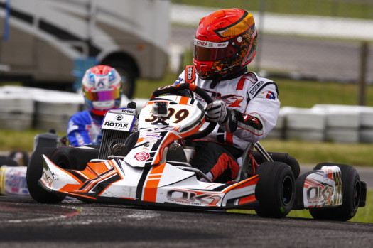 Tyler Kashak had a strong senior debut with a pair of top-five finishes. (Photo by: Cody Schindel/CKN)