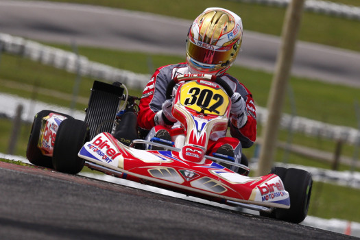 Kevin Monteith has the largest point lead through the first two races. (Photo by: Cody Schindel/CKN)