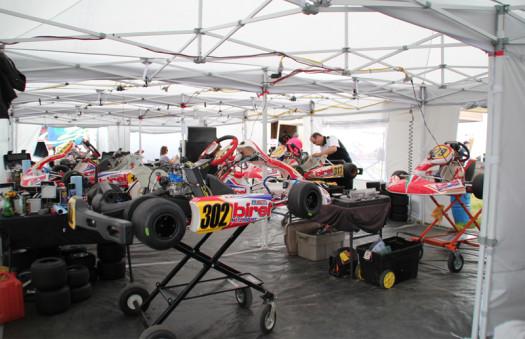 The REM Paddock Setup (Photo by: Lisa Balestri)