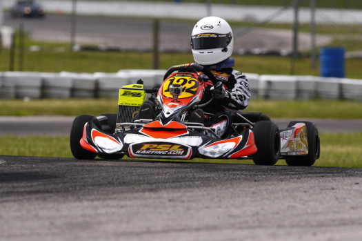 Thierry Cote will be vying for more podium results in the Mini Max class (Photo by: Cody Schindel/CanadianKartingNews.com)
