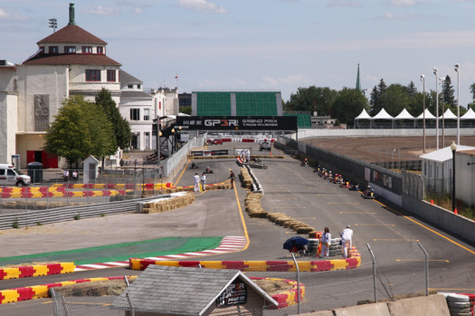 Le Monaco runs a portion of the famed GP3R track in Trois-Rivieres. (Photo by: Cody Schindel/CKN)