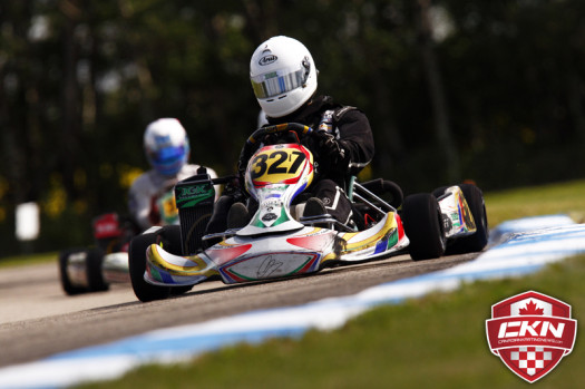 To prepare for the Grand Finals, Dunning will compete at the Canadian Championships at Goodwood and hopefully the Rotax Pan American Championships (Photo by: Cody Schindel/CKN)
