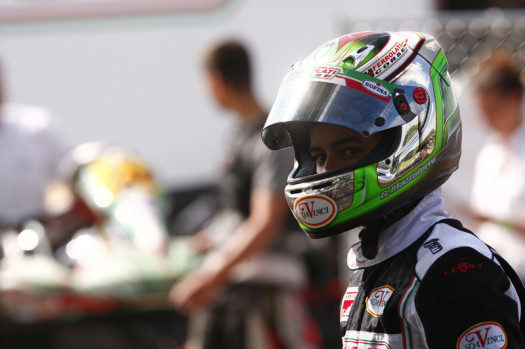 Gianfranco Mazzaferro is one of five Canadians entered in Rotax Junior. (Photo by: Cody Schindel/CKN)