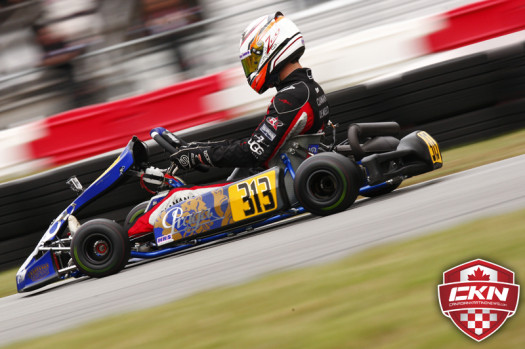 Zachary Claman DeMelo is seeking his third major Rotax Senior title of the season this weekend in New Orleans  (Photo by: Cody Schindel/CKN)