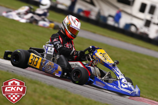Zachary Claman DeMelo won his fourth-consecutive ECKC title in Mont-Tremblant. (Photo by: Cody Schindel/CKN)