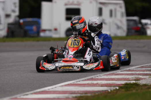 Mathieu Demers claimed the 2013 ECKC Vice-Championship title in Briggs Senior (Photo credit: Cody Schindel/CanadianKartingNews.com)