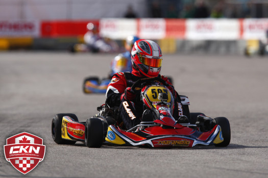 Stuart Clark scored the victory in DD2 Masters, securing his ticket to the 2014 Rotax Grand Finals  (Photo by: Cody Schindel/CKN)