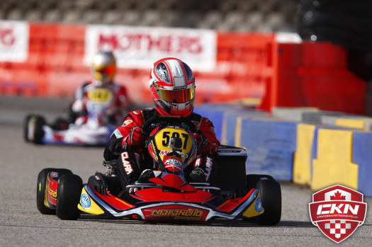 Stuart Clark confirmed his presence at the 2014 Rotax Grand Finals with a victory in DD2 Masters  (Photo by: Cody Schindel/CKN)