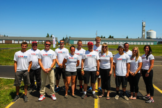 The Rotax CAN-AM ProKart Challenge crew from 2013 (Photo: Sean Buur)