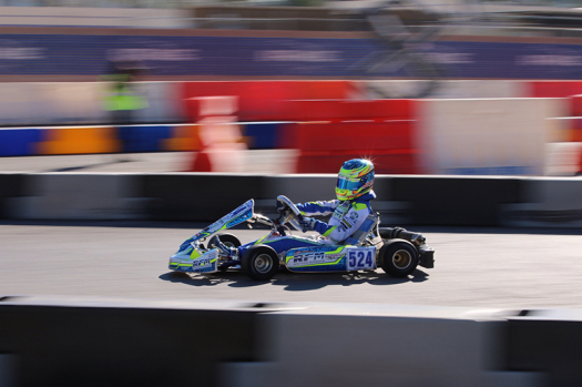 Logan Sargeant dominated the TaG Junior class all weekend long (Photo by: John Shofner/Kart360)