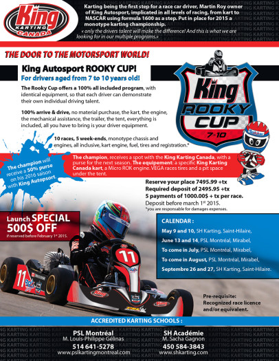 KING AUTOPSORT Rooky Cup_Presentation ANG