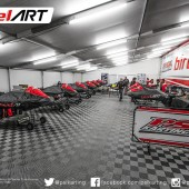 PSL Karting's fully armed tent ready for battle a Florida Winter Tour 2016 (Photo: PSL press)