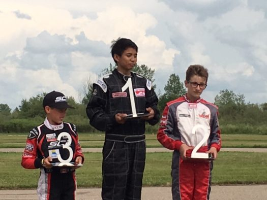 Junior Rotax Podium