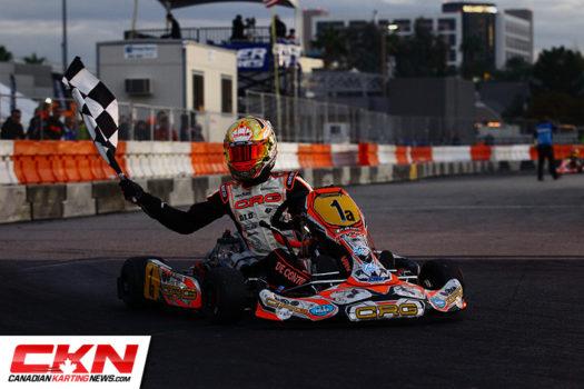Italian Paolo de Conto took home $20,000 in KZ2 (Photo by: Cody Schindel / CKN)
