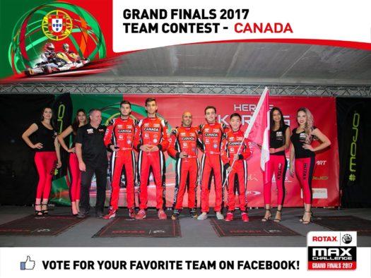 Help Team Canada Win the Rotax Teams Cup Contest! – CKN