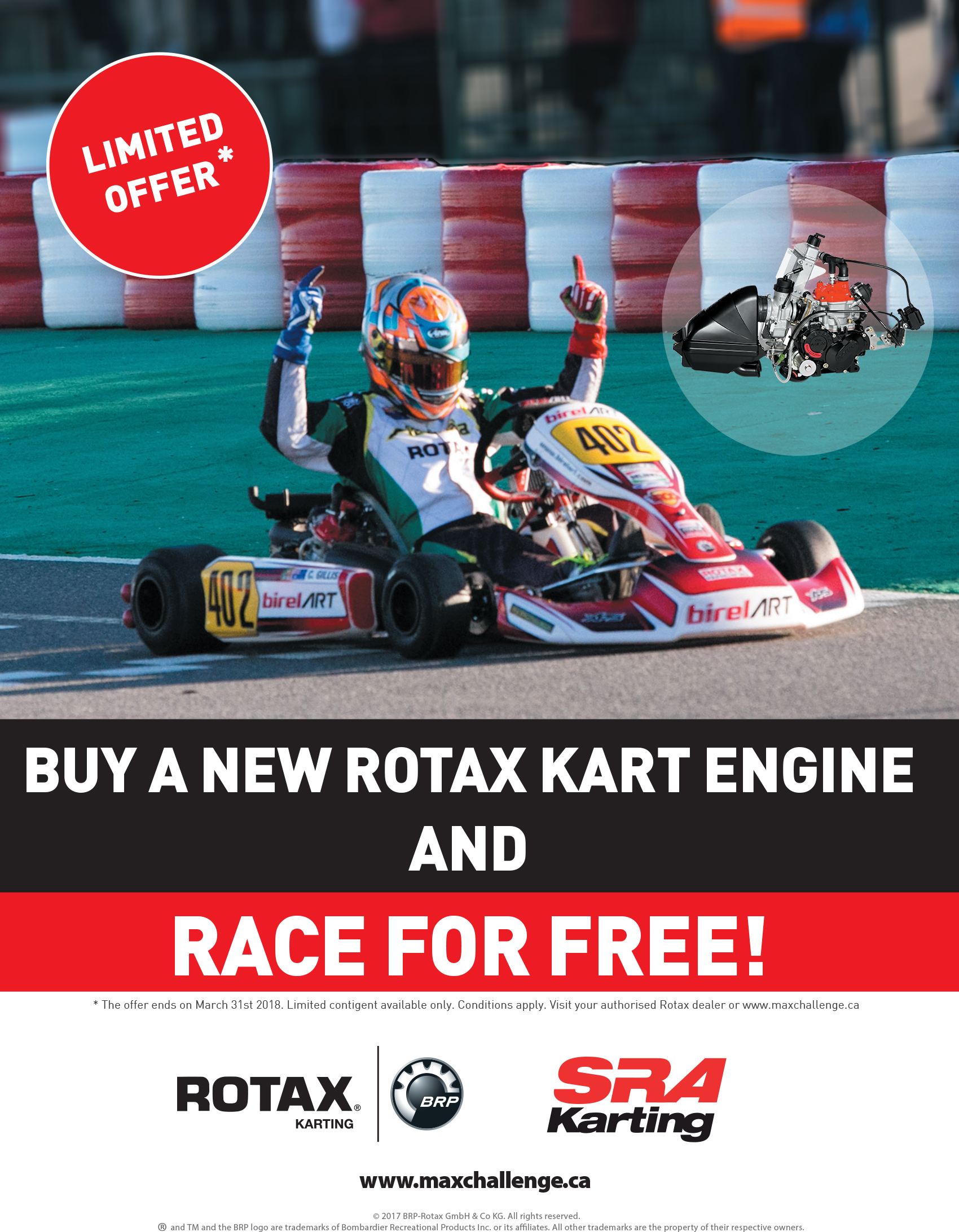 Buy a New Rotax Kart Engine and Race for Free! – CKN