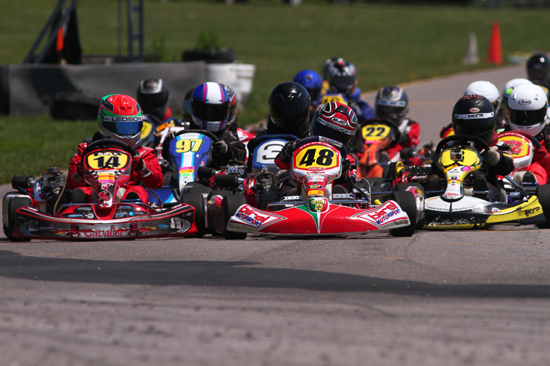PR: Birel chassis continue to dominate 4 cycle karting in