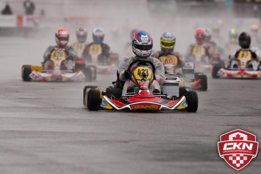 Wickens last competed in a kart at the 2013 SKUSA SuperNationals, qualifying on the pole-position in the Rotax DD2 class and finishing fourth in the Final (Photo by: Cody Schindel/CKN)