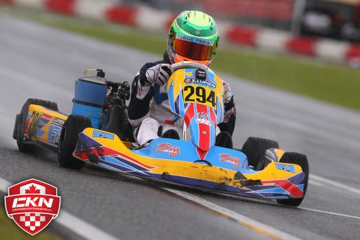 Samuel Lupien was P1 in Rotax Junior Qualifying (Photo by: Cody Schindel/CKN)