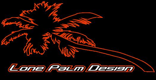 Lone Palm Design Ron Fellows Black Font